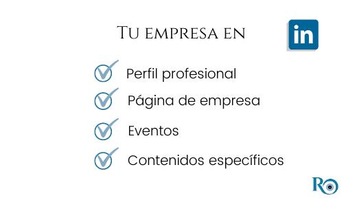 tu empresa en LinkedIn